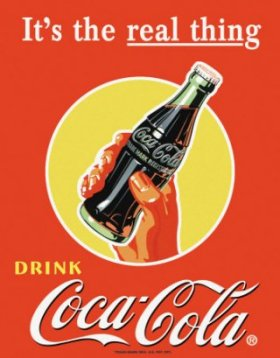 Uniform global brands epitomised by Coca-Cola